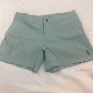 Prana Teal Shorts